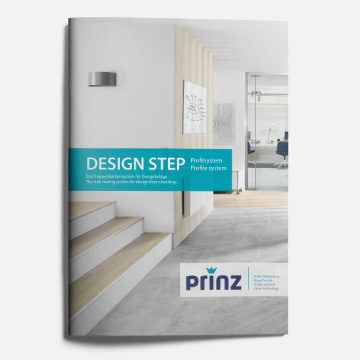 Design Step Informationsbroschüre